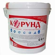 Жидкая теплоизоляция Корунд Фасад (5 л.)