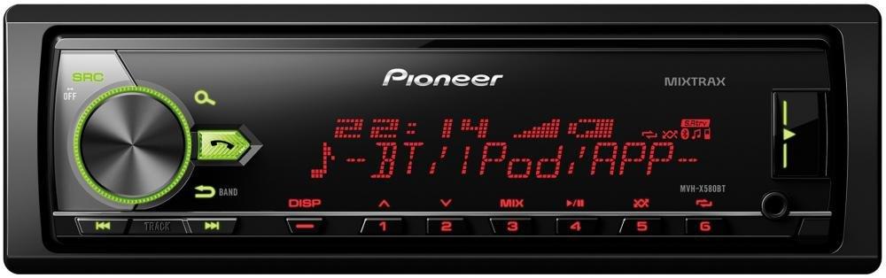 Автомагнитола Pioneer MVH-X580BT