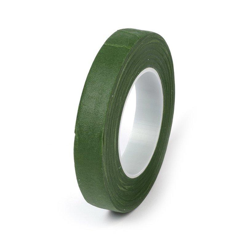 Флористическая лента, зеленая