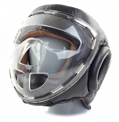 Шлем боксерский Jabb JE-2104 черный L