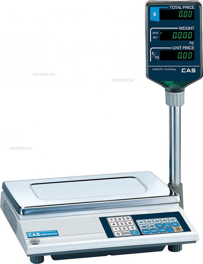 Торговые весы CAS AP-6M