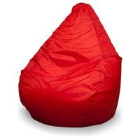 Кресло-мешок груша L, Оксфорд Красный