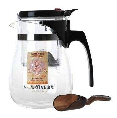 """Чайник для заваривания чая Гунфу """"KAMJOVE"""" 700 мл. с мерной ложкой."""