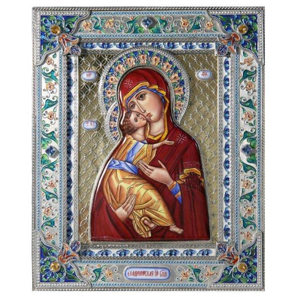 Икона Божией Матери Владимирская 25,2*21, арт рфИ-093