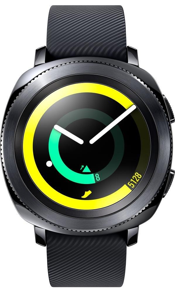 Умные часы Samsung Gear Sport (черный)