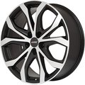 Литой диск Alutec W10X 8.5x19 5x108 ET41.3 D63.4 Racing Black Front Polish - фото 1