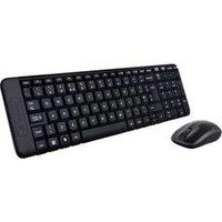 Комплект Logitech Wireless Combo MK220 Black USB (920-003169)