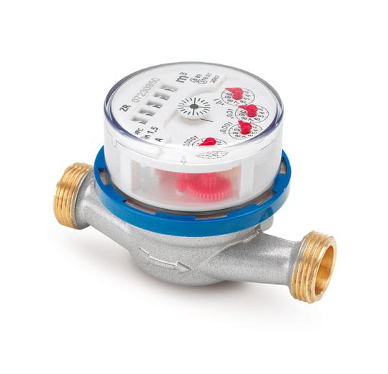 "Счетчик воды ETK-N-AM, 40°C, DN 20, Qn 2,5, L 130 mm, G1""B, без присоед."