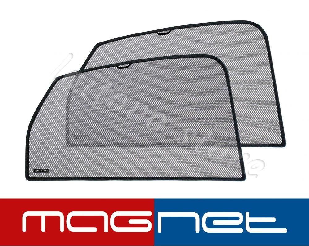 Laitovo Бескрепежные автомобильные шторки Chiko Magnet задние на Toyota Land Cruiser Prado 4G Внедорожник 5D (2009 - н.в.) 150 / стекло задней двери не открывается