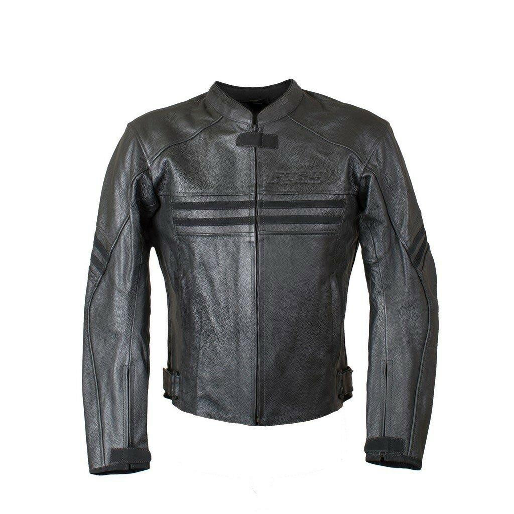 RUSH [RUSH] Мотокуртка JACK кожа, цвет Черный