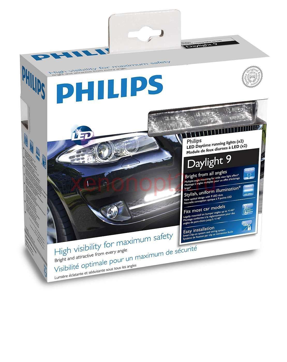 Дневные ходовые огни (DRL) Philips LED DayLight 9 12831WLEDX1