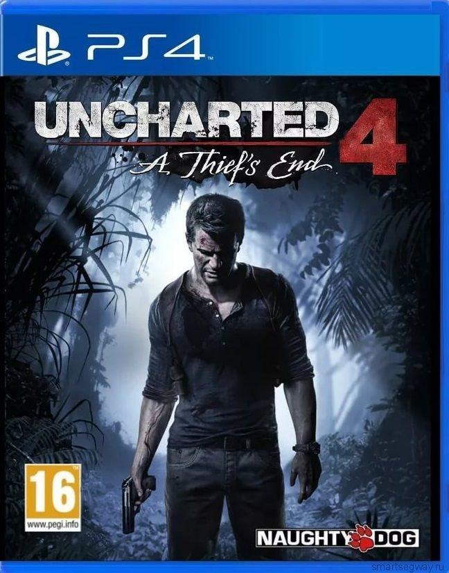 Игра Uncharted 4: Путь Вора PS4 ( Рус. Вер.)