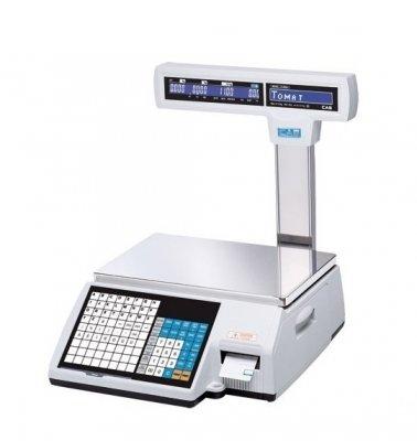 Весы с печатью этикетки CAS CL-5000J-06IP Ethernet