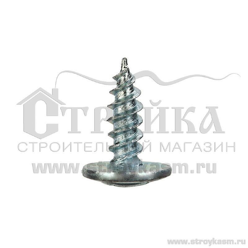 Саморез с Прессшайбой п/сферическая головка 4.2х13 мм острый