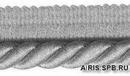 Кант 0,9см витой с люрексом 23-103R (10 платина)