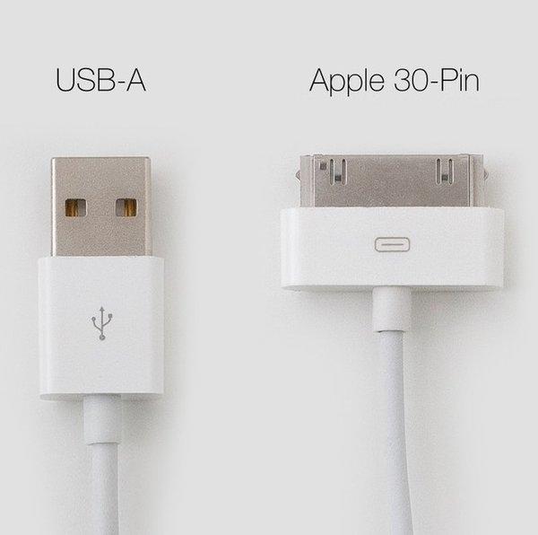 Кабель Solomon 30-pin для apple (1м.)
