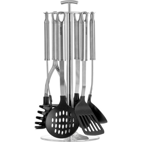 Набор кухонных инструментов NADOBA Anezka с нейлоновым покрытием, 7 предметов