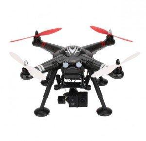 Квадрокоптеры профессиональные для съемки XK-Innovation Радиоуправляемый квадрокоптер XK-Innovations Detect X380-C RTF с камерой и двухосевым подвесом