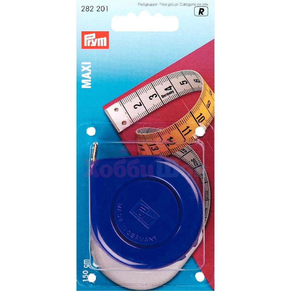Рулетка с сантиметровой шкалой Maxi Prym 282201