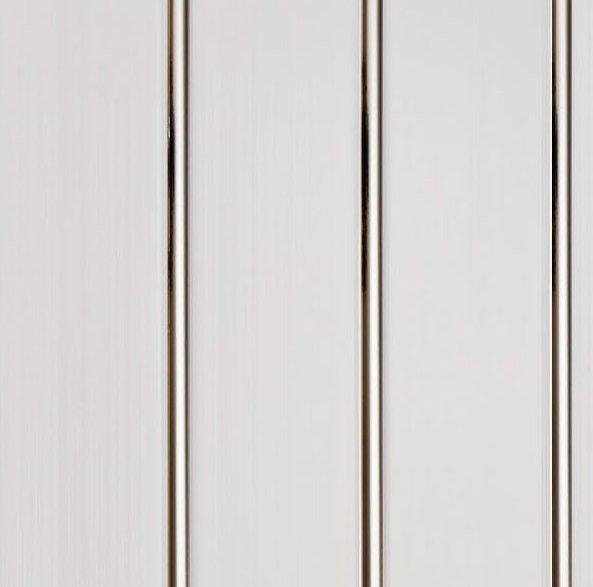 Панель ПВХ - Серебро - 3х секционная (потолочная) 3000х240 (1шт=0,72м2)