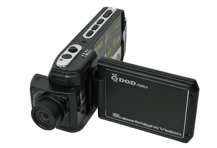 Автомобильный видеорегистратор DOD F980LS Black