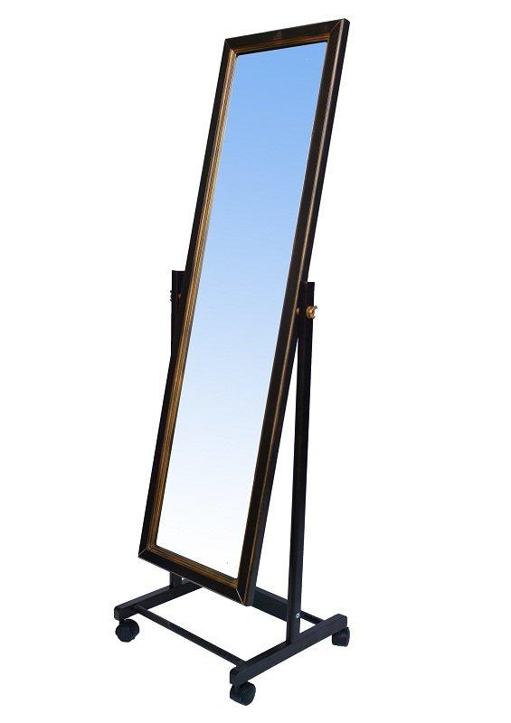 Напольное зеркало Мебелик В 27Н Венге
