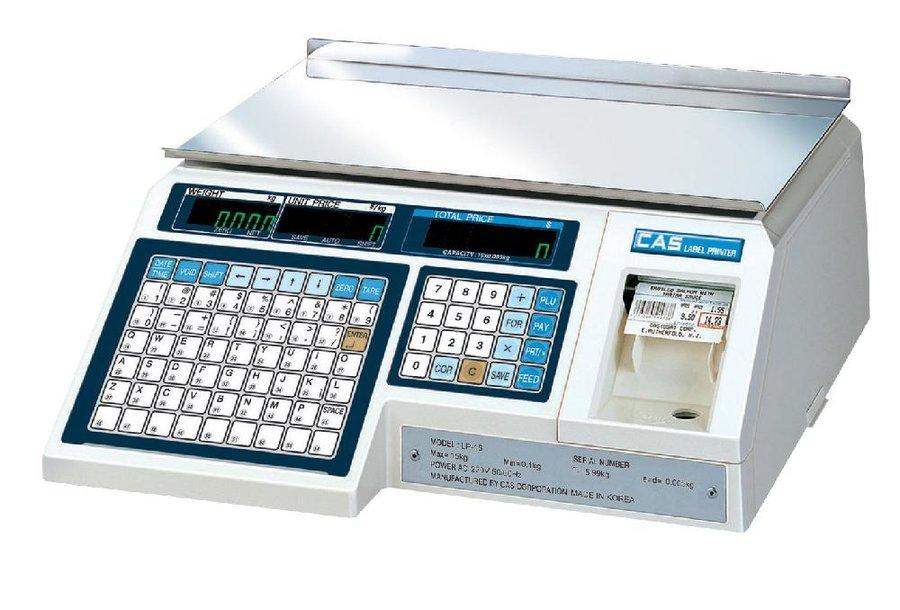 Весы с печатью этикеток CAS LP-15 ver. 1,6 TCP/IP (электронные)