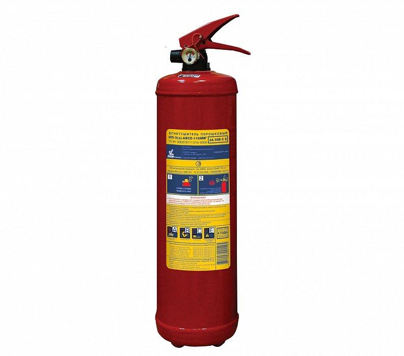 огнетушитель Пожтехника ОП-3