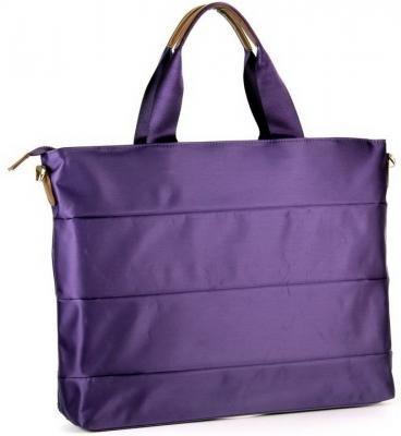 """Сумка и рюкзак Сумка для ноутбука PORTCASE KCB-74 до 15,6"""" (женская, фиолетовый, полиэстр, 43 x 31,4 x 7,8 см.)"""