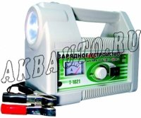 Зарядное устройство Автоэлектрика Т1021 АКБ от 3 до 90 А/ч, режим автомат или ручной, фонарь