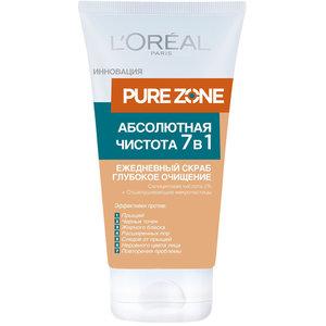 Pure Zone Абсолютная Чистота 7 в 1 Ежедневный скраб для лица