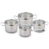 Набор посуды из нержавеющей стали KL-4253 8 предметов