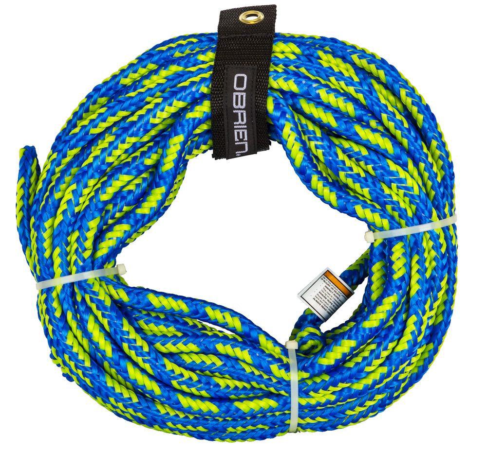 Трос для буксировки баллона вместимостью до 2 человек O'Brien Floating 2-person Tube Rope Blue
