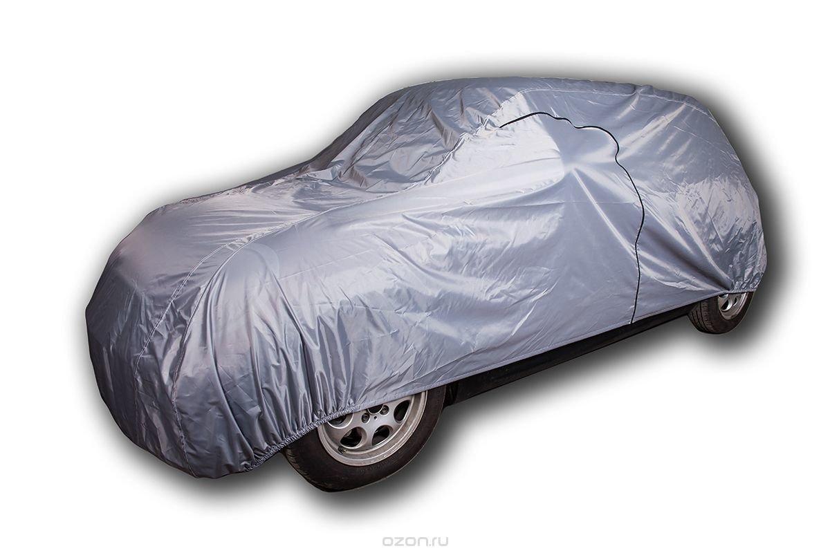 "Защитный тент-чехол для автомобиля ""AvtoTink"", водонепроницаемый, размер L, 480-500 x 178 x 120 см"