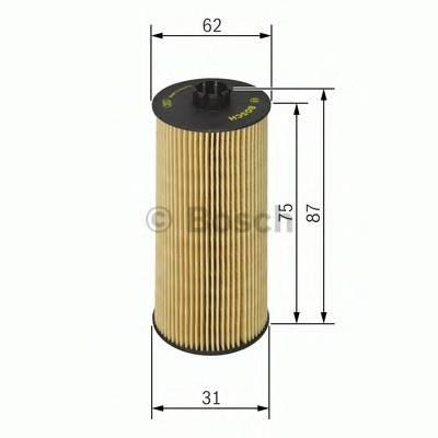 Масляный фильтр Bosch F026407015 вставка