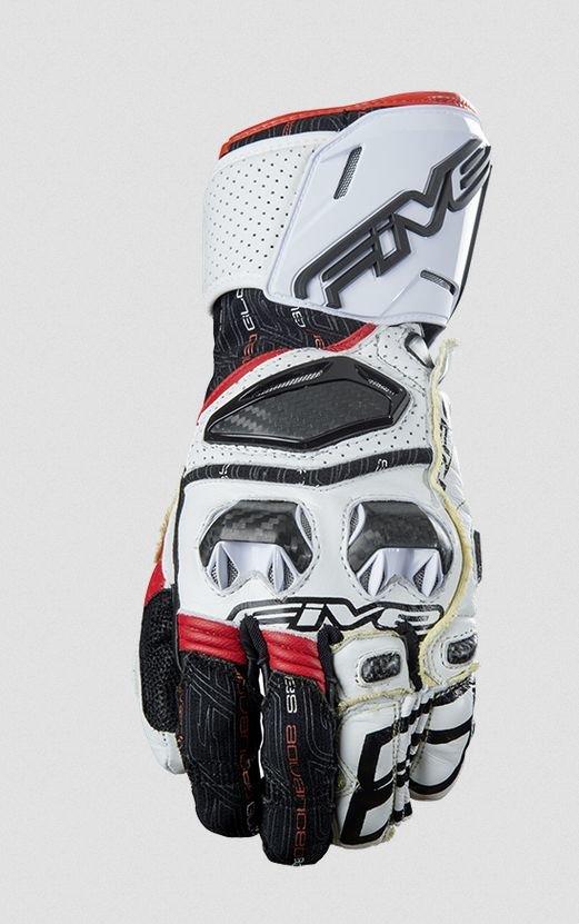 Перчатки Five перчатки rfx race бело/красные 7/XS