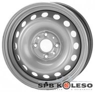 Колесный диск Trebl 4375 5 \R13 4x100 ET46.0 D54.1 Silver - фото 1