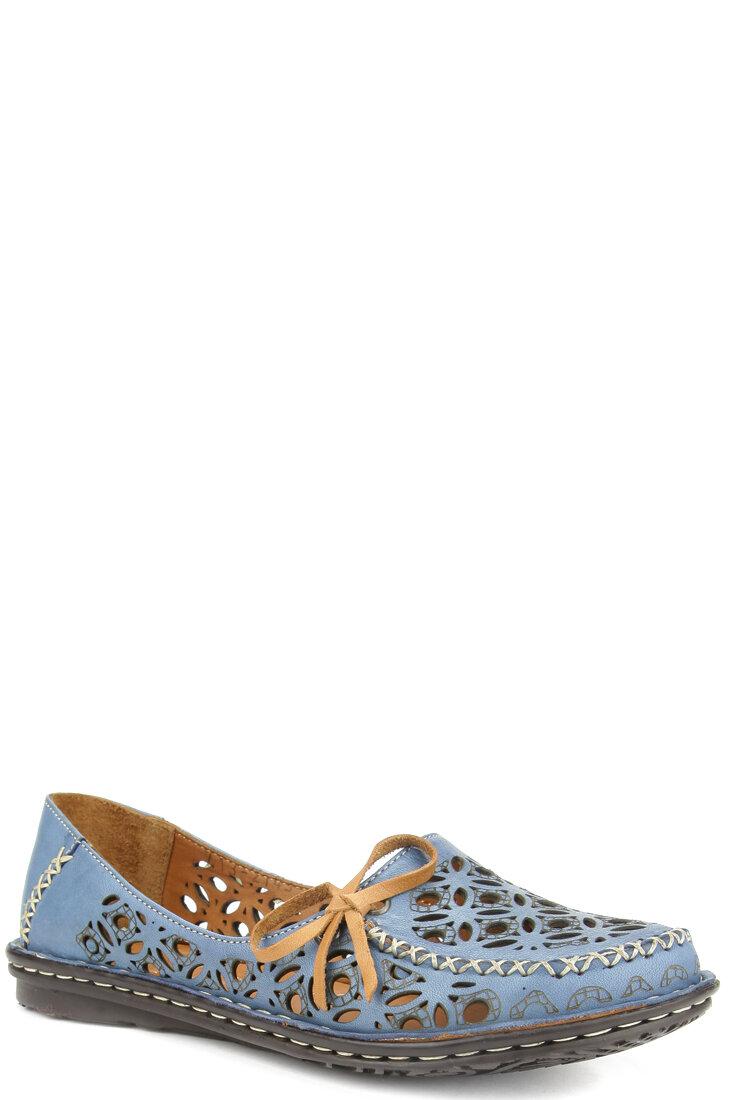 Белые туфли Dakkem 2143-1-05 бел кож туф