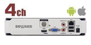 BEWARD BK0104S: IP видеорегистратор