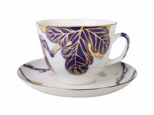 Чашка с блюдцем чайная Смоковница (Подарочная) 375 мл Императорский фарфоровый завод (ЛФЗ) 81.19176.00.1