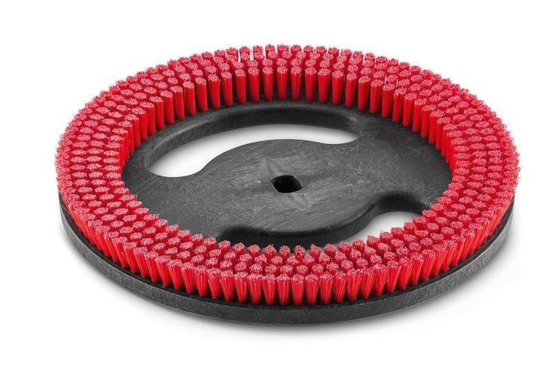 Дисковая щетка 280мм средняя красная универсальная Karcher 6.670-127.0