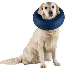 """Надувной защитный воротник для собак """"Trixie"""", M–L, синий"""