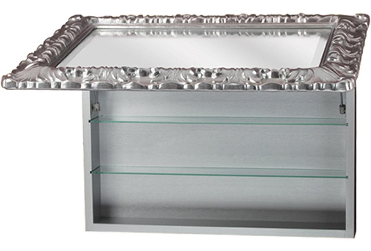 Зеркальный шкаф Migliore 90 (ML.COM-70.801AG)