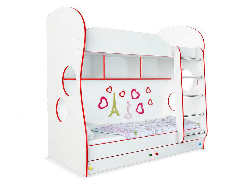 Кровать Орматек Соната Kids двухъярусная 80x200 см