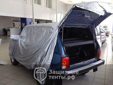 Тент чехол для внедорожника и кроссовера ТУРИСТ для Toyota Sequoia / Тойота Секвойя