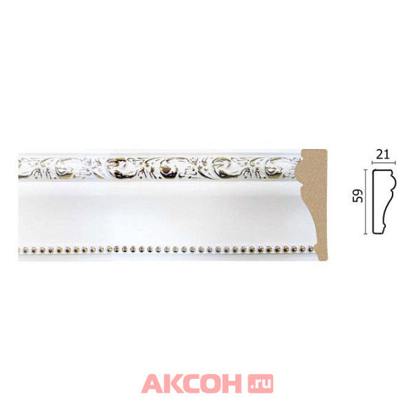 молдинг decor-dizayn 59*21*2400мм 161-115g(fm)/18