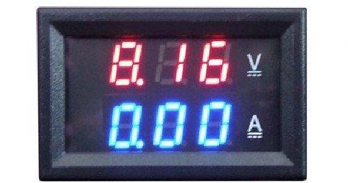 Цифровой вольтметр-амперметр YB27VA отдельное питание 0132 арт