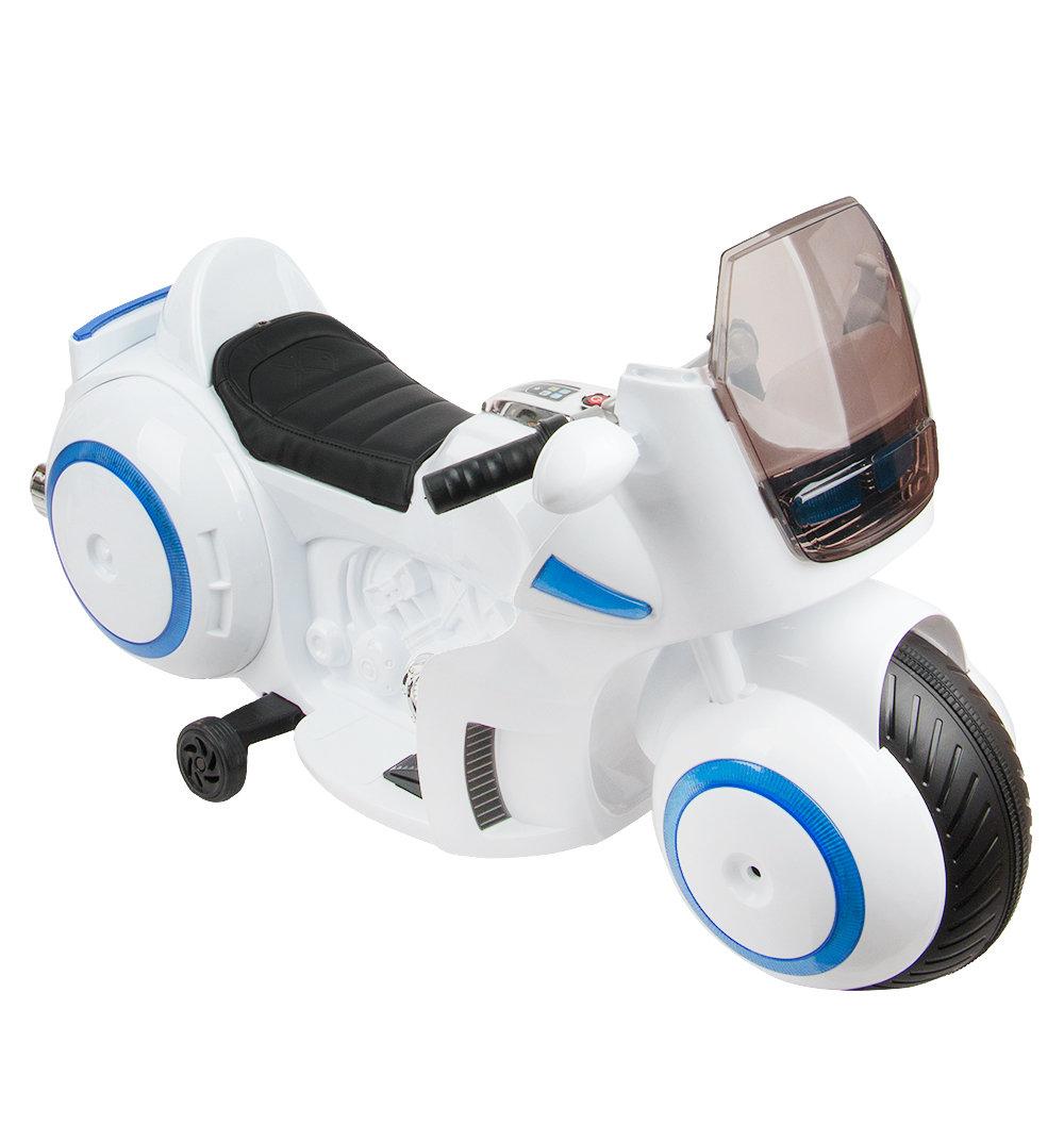Электромотоцикл Кидс глори TC-1188, цвет: белый