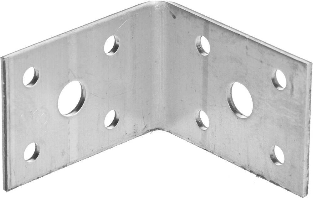 Крепежный угол 35х50х50 мм 1 шт Зубр МАСТЕР 310126-35-050