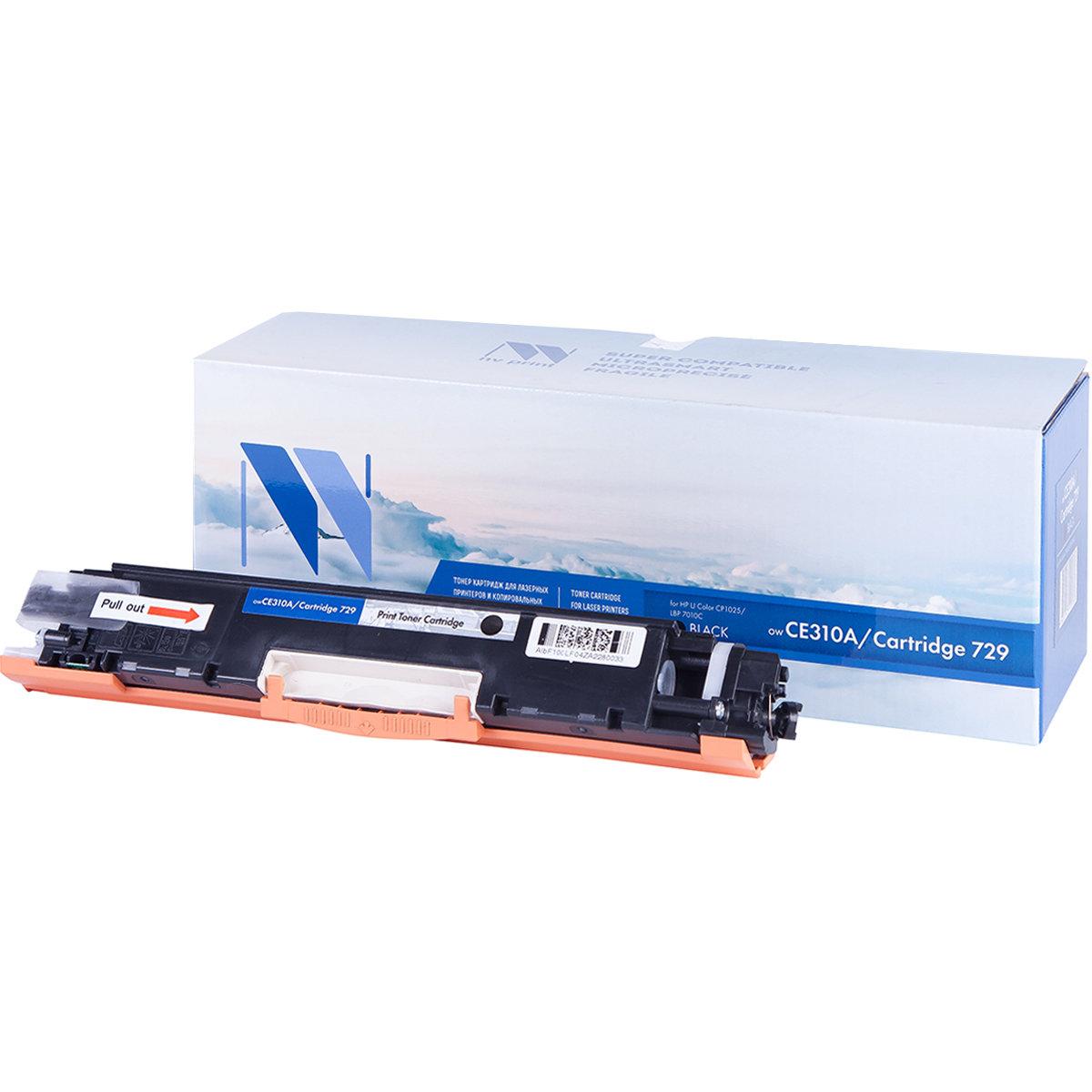 Картридж NV Print CE310A Bk совместимый